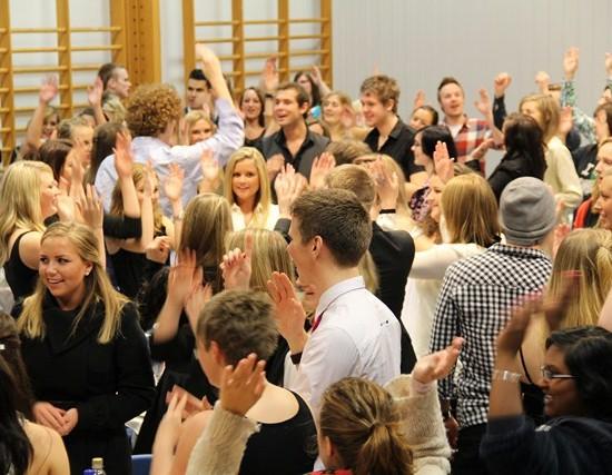 Elevstevne på Åsane folkehøgskole