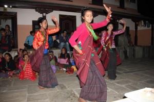 Åsane folkehøgskole på tur i Nepal