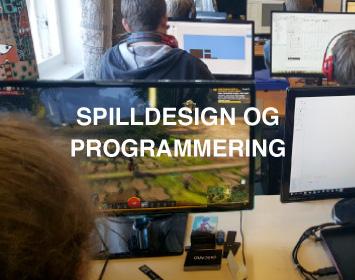 Spilldesign og Programmering