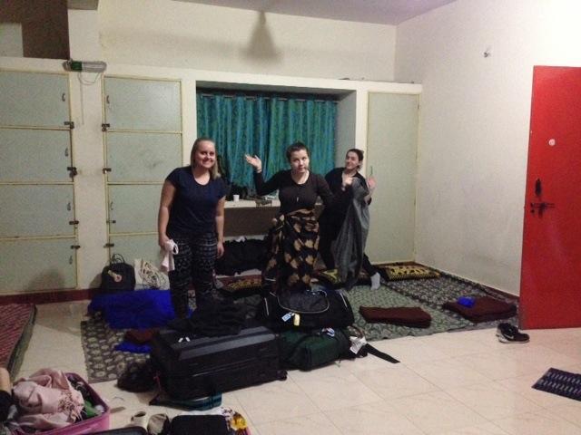 Første natten i et fremmed land som snart skal bli et nytt hjem.