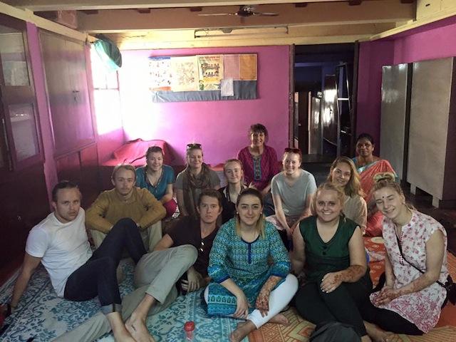 På besøk hos APSA sitt barnehjem i Bangalore.