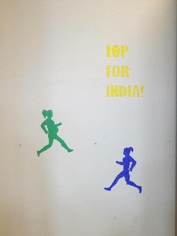 Løp for India - forberedelser