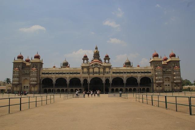 Palasset i Mysore.