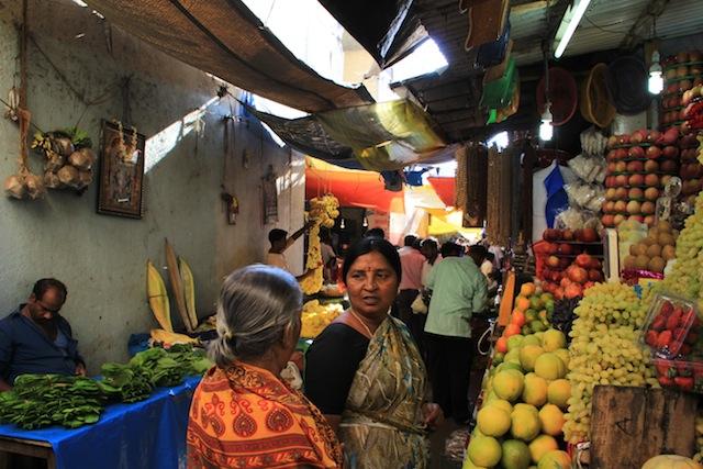 Devaraja markedet i Mysore.