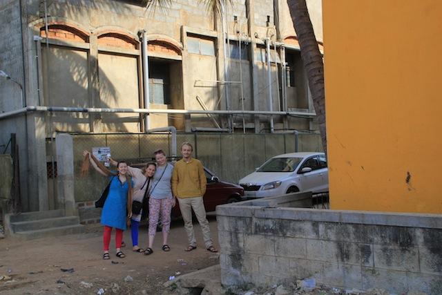 Dina, Urte, Maria og Mathias på APSA.